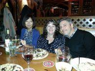 Susan Harada, Thierry Giasson and I